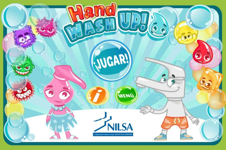 Hand Wash Up Nilsa